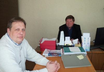 Ю. Кущ і А. Верещак