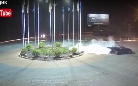 Нічний гонщик в Ірпені (відеосюжет)