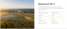 В Дымерке построят солнечную электростанцию